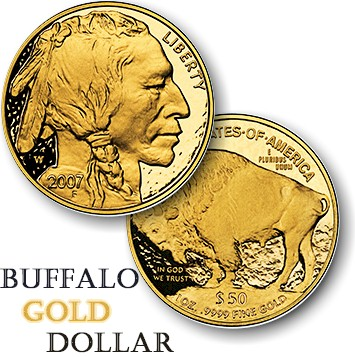 buffalo gold dollar
