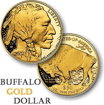 buffalo gold dollar